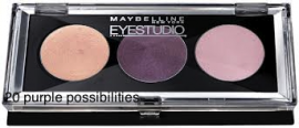 MAYBELLINE EYESTUDIO - creme øjenskygge palette 20 Purple possibilities
