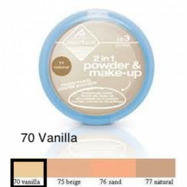 MANHATTAN CLEAR FACE PRESSED PUDDER - 70 Vanilla
