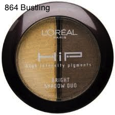 L'OREAL HIP - eyeshadow 864 Bustling
