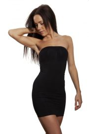 Shapewear dress i sort